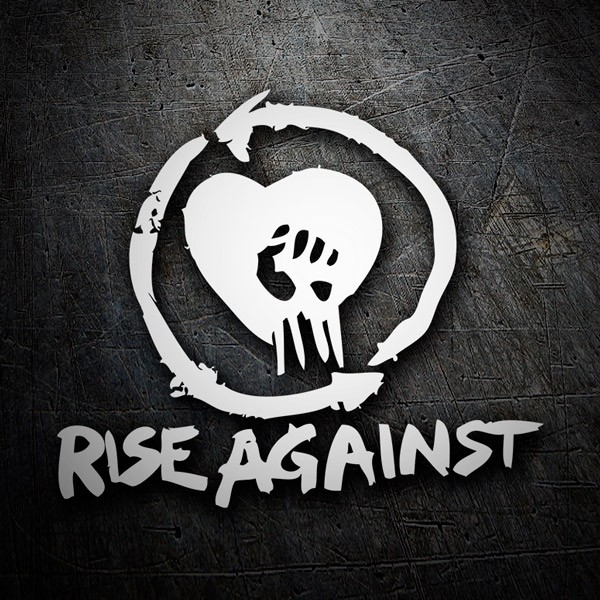 Autocollants: Rise Against