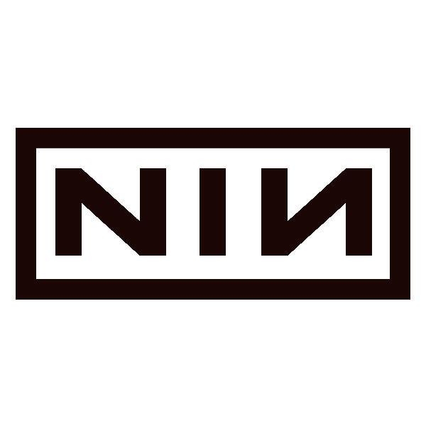 Autocollants: Nine Inch Nails