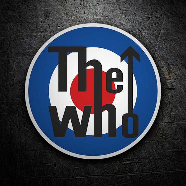 Autocollants: The Who logo 1