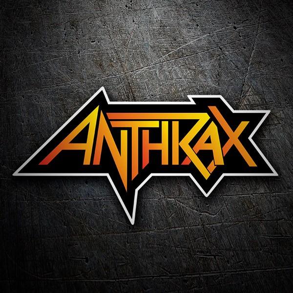 Autocollants: Anthrax 1