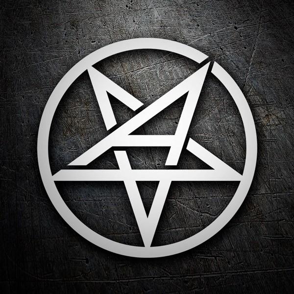 Autocollants: Anthrax logo