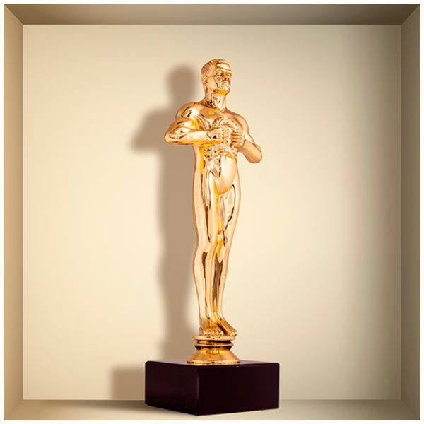 Stickers muraux: Statuette Oscar niche