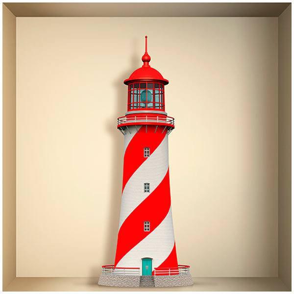Stickers muraux: Phare Maritime niche