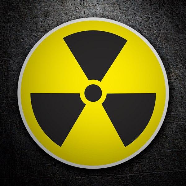 Autocollants: Radioactive