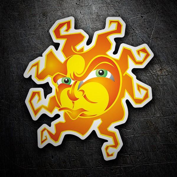Autocollants: Le soleil