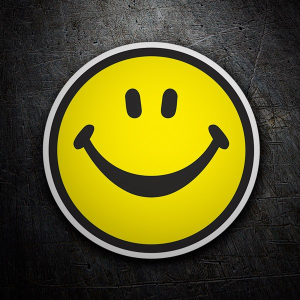 Autocollants: Smiley face