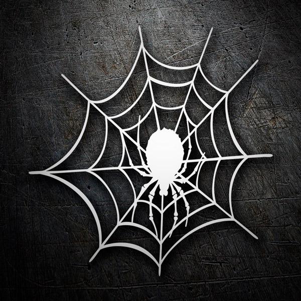 Autocollants: Toile d araignée