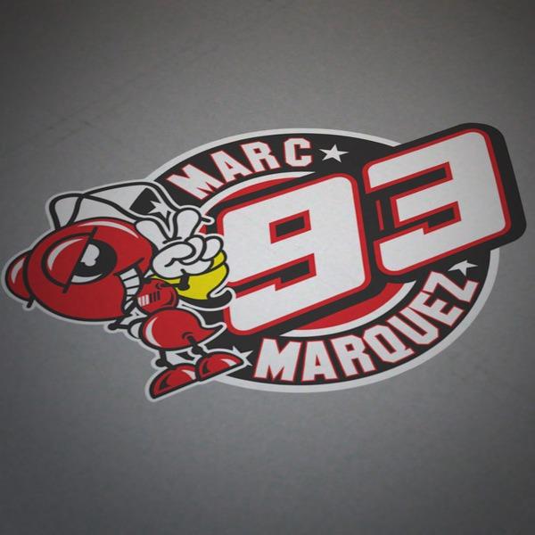 Autocollants: Marc Marquez 93