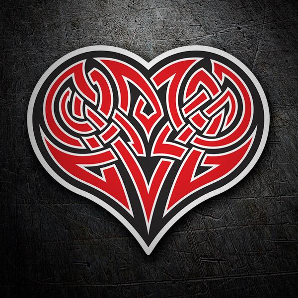Autocollants: Tribal Heart