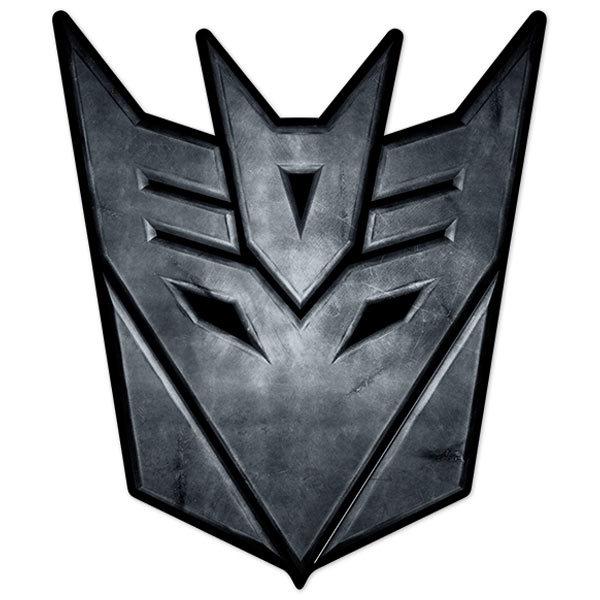 Autocollants: Transformers Decepticon Logo