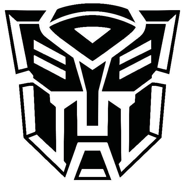 Autocollants: Logo Transformers Autobot 2