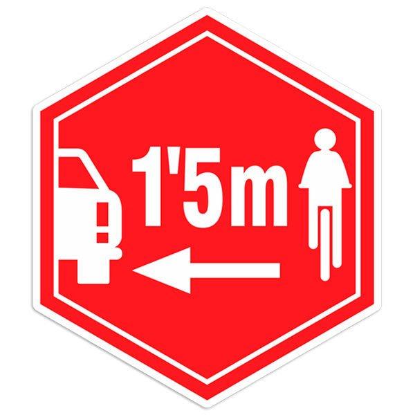 Autocollants: Respecter les cyclistes