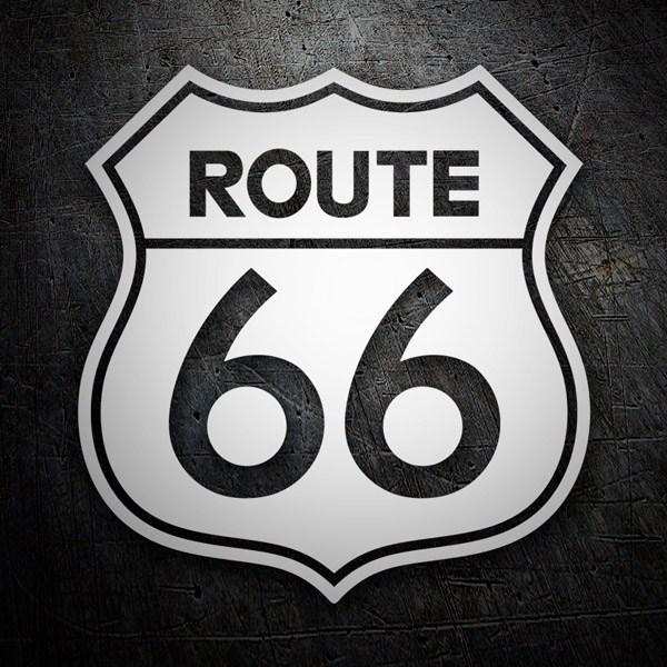 Autocollants: Route 66 1