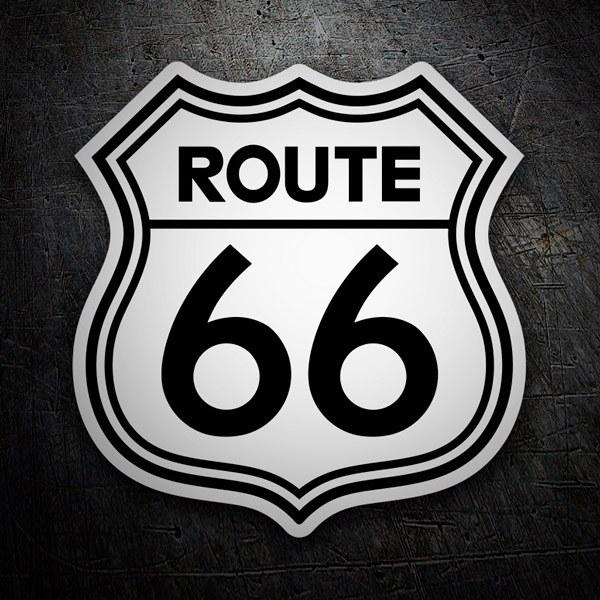 Autocollants: Route 66 2