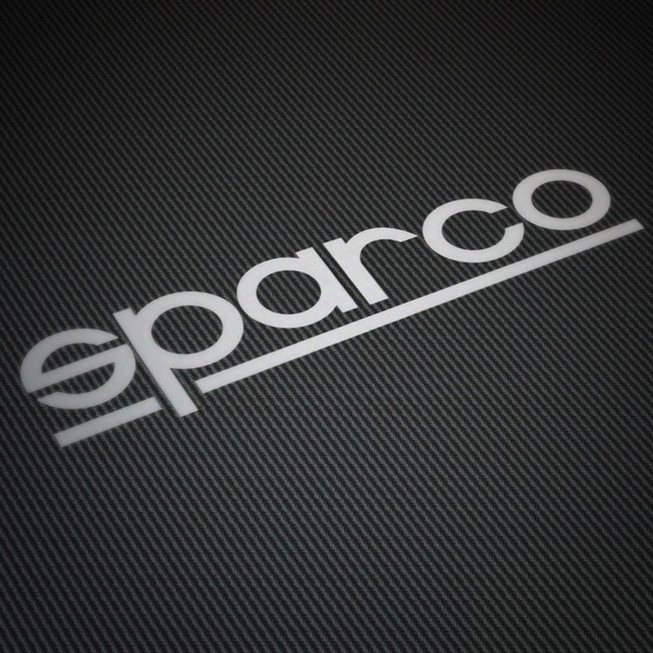 Autocollants: Sparco thin