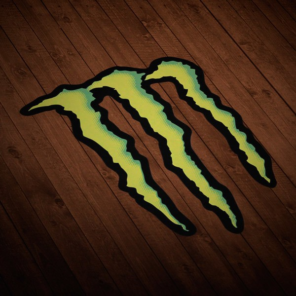 Autocollants: Monster Energy Logo 1