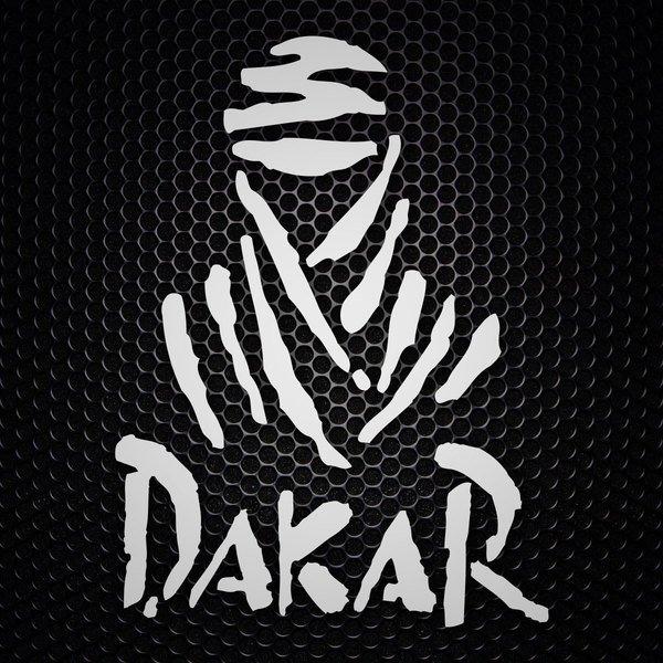 Autocollants: Logo Dakar