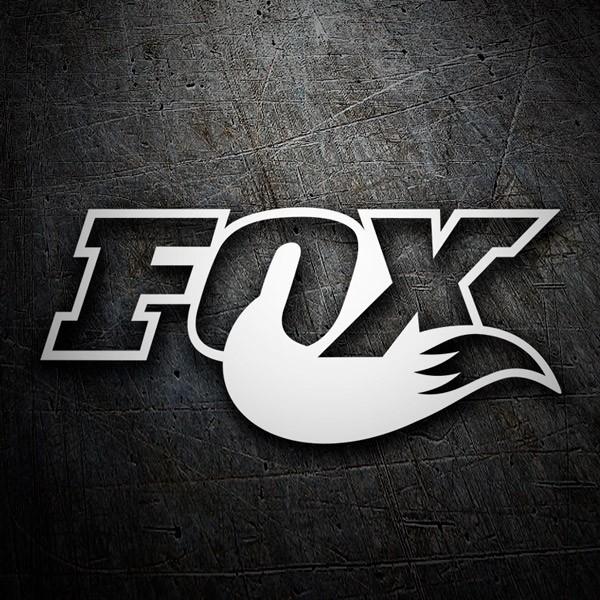Autocollants: Fox logo 3