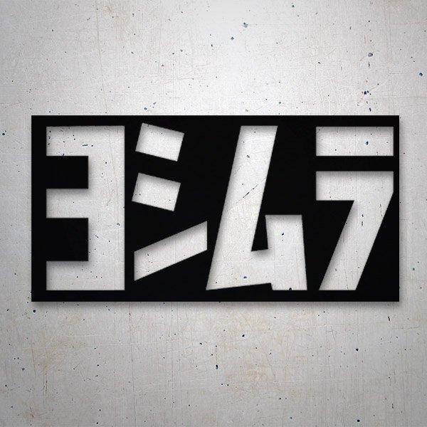 Autocollants: Yoshimura 4