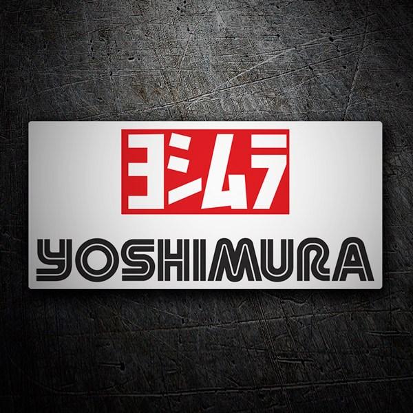 Autocollants: Yoshimura 3