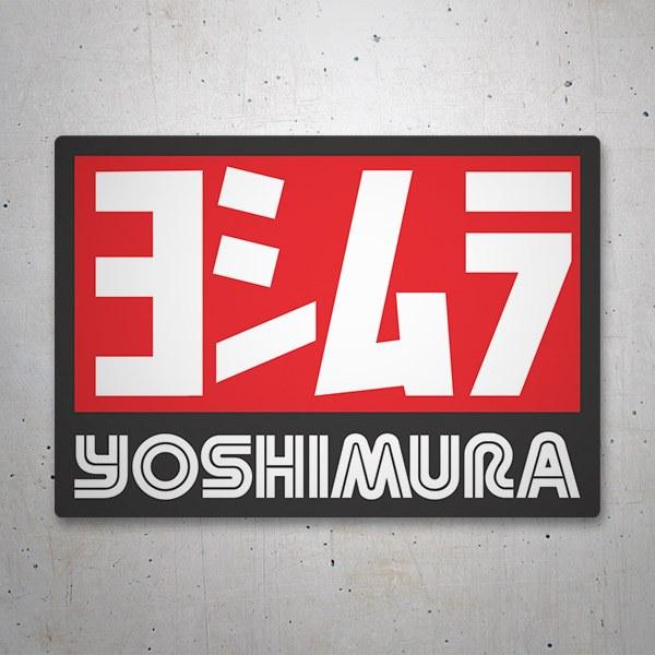 Autocollants: Yoshimura 6