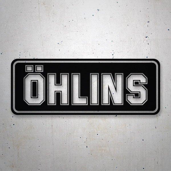 Autocollants: Ohlins