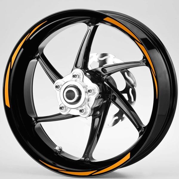 Autocollants: Kit liseret jante MotoGP Style 2