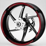 Autocollants: Kit liseret jante MotoGP Style 3