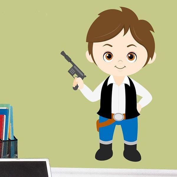 Stickers pour enfants: Han Solo