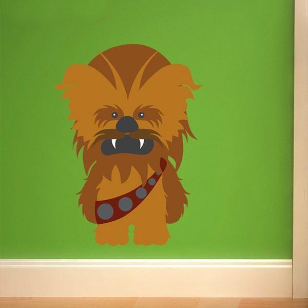 Stickers pour enfants: Chewbacca