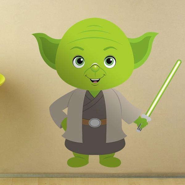 Stickers pour enfants: Yoda