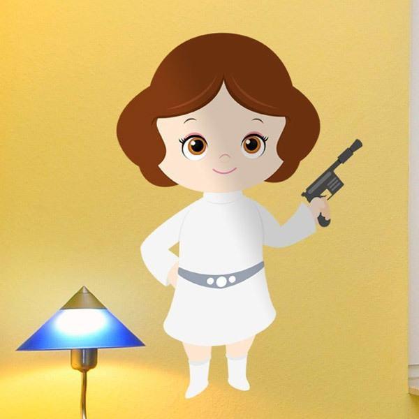 Stickers pour enfants: Princesse Leia