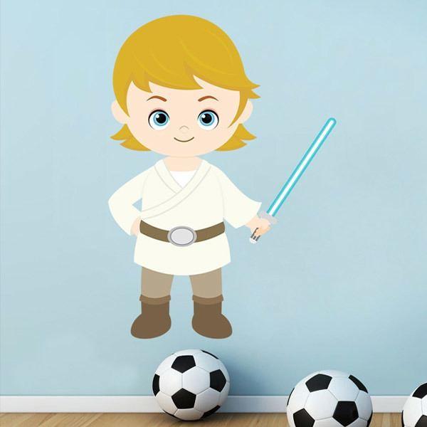 Stickers pour enfants: Luke