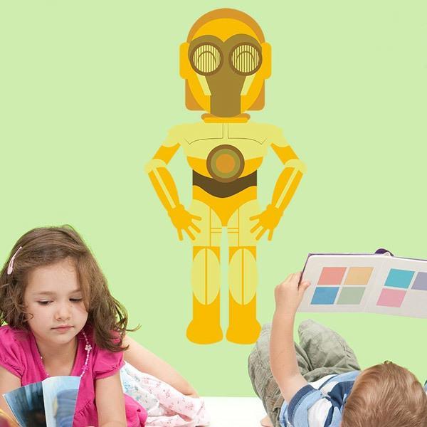 Stickers pour enfants: C3po