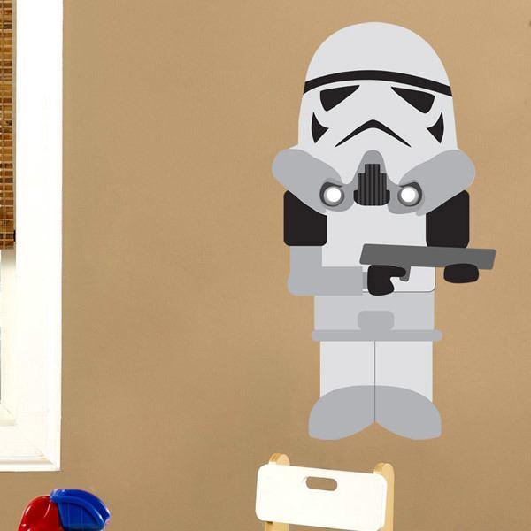 Stickers pour enfants: Soldat impérial