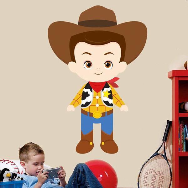 Stickers pour enfants: Woody