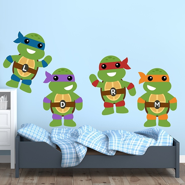 Stickers pour enfants: Kit Tortues Ninja