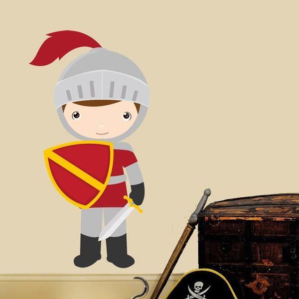 Stickers pour enfants: Garnet chevalier