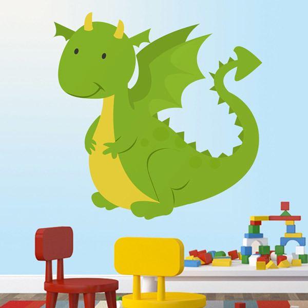 Stickers pour enfants: Dragon