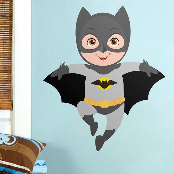 Stickers pour enfants: Batman vol