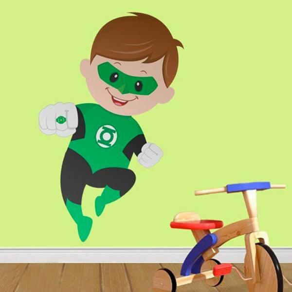 Stickers pour enfants: Green Lantern