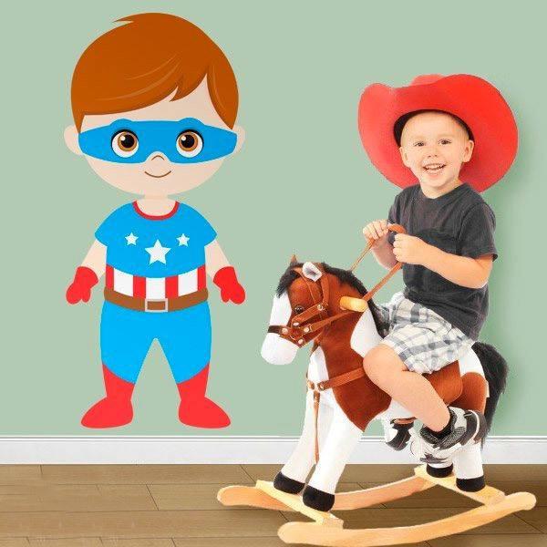 Stickers pour enfants: Captain America