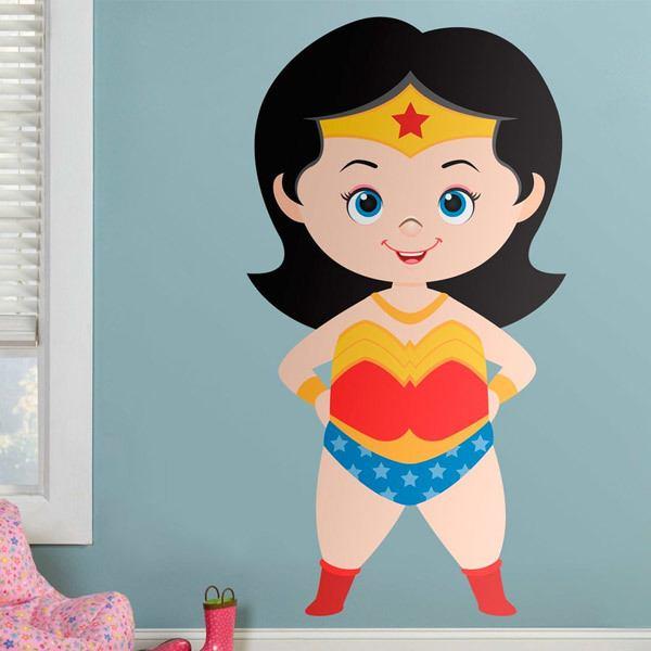 Stickers pour enfants: Wonderwoman