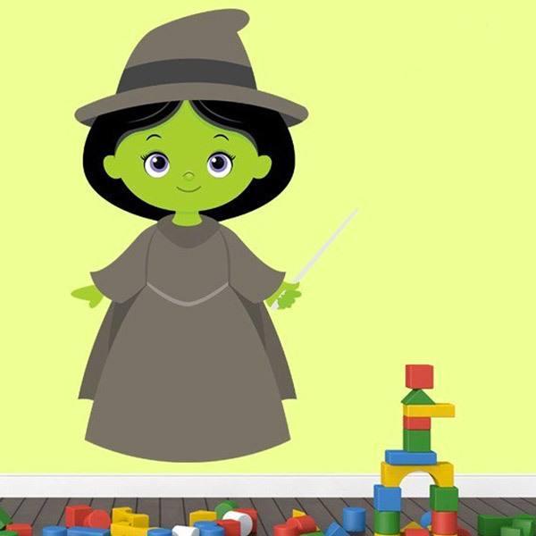 Stickers pour enfants: Sorcière Magicien du Oz