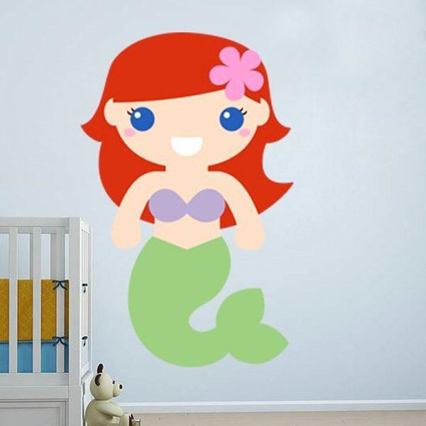 Stickers pour enfants: La Petite Sirène