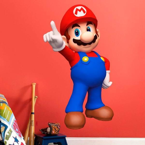 Stickers pour enfants: Mario Bros 3