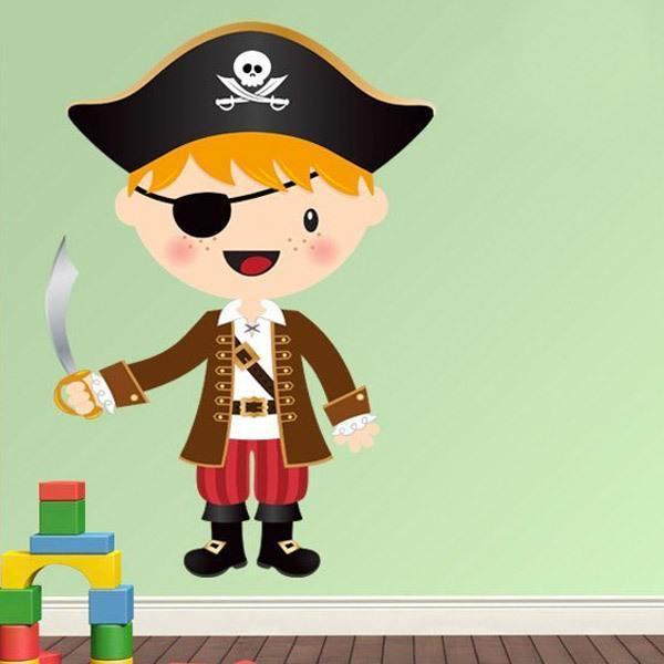 Stickers pour enfants: Le petit épée de pirate