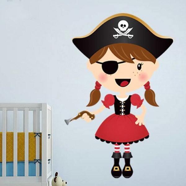 Stickers pour enfants: La petite pistolet de pirate