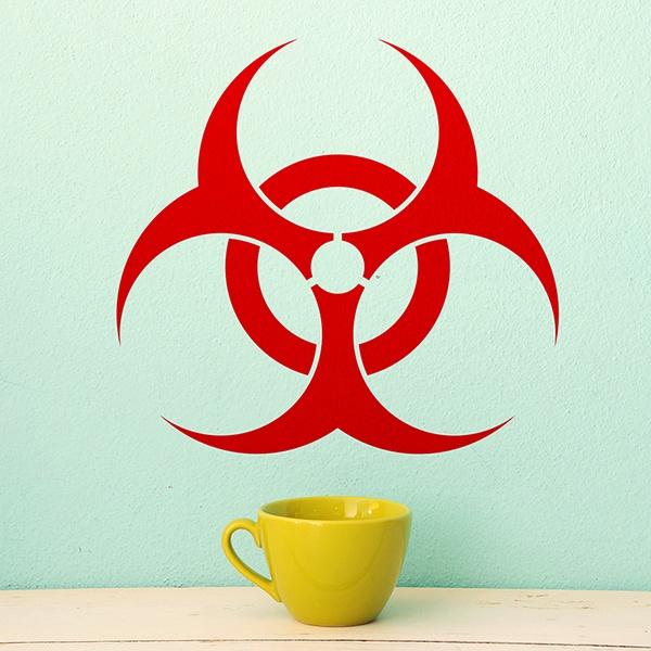 Stickers muraux: Biohazard