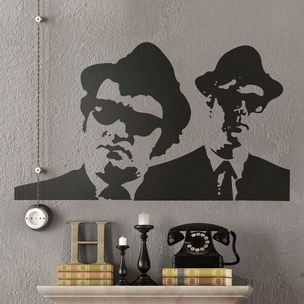 Stickers muraux: Blues Brothers